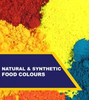 natural and synthetic food colours